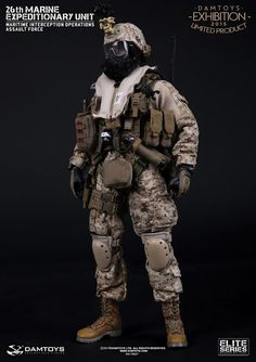 onesixthscalepictures: DAM Toys 26TH MARINE EXPEDITIONARY UNIT - MIO : Latest product news for 1/6 scale figures (12 inch collectibles).