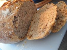 Ladybirds Nest: Grytebrød - no knead bread