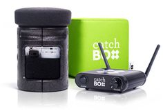 Catchbox, which makes a throwable microphone designed to make it easier to pass a mic to different audience members and to inject some playfulness into meetings #eventtech