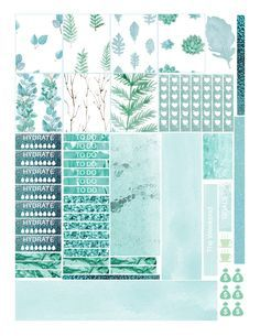 Free Printable Planner Stickers {page one}