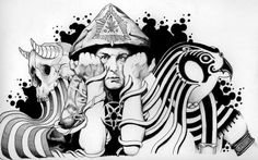 el mago del rock aleister crowley