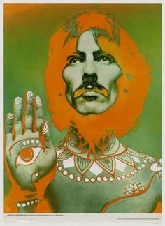 Richard Avedon. George Harrison. 1967