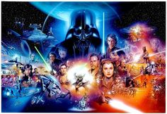 Star Wars episodes 1-6  Artist: Tsuneo Sanda