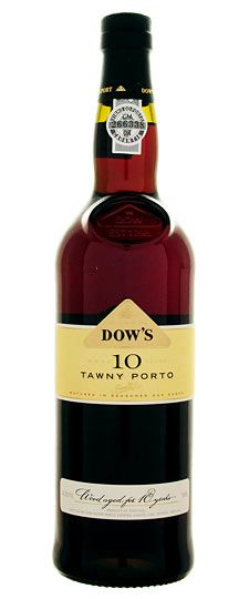 Dow's 10-year-old #Tawny #Port - Vibrant nutty flavors perfectly balance with aromas of candied fruit and toffee