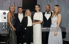 Heidi Klum, Orlando Bloom, Melanie Laurent, Lola Karimova-Tillyaeva, Common and Kate Hudson attend The Harmonist Cocktail Party during The 69th Annual Cannes Film Festival at Plage du Grand Hyatt on May 16, 2016 in Cannes.