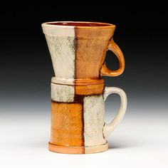 Schaller Gallery : Artist : Marty Fielding : Pour Over Coffee Cup