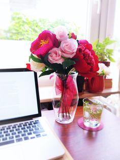 ehrfurchtiges blumen und strause fur den valentinstag inserat abbild und aafecdcacfedf paper peonies crepe paper flowers