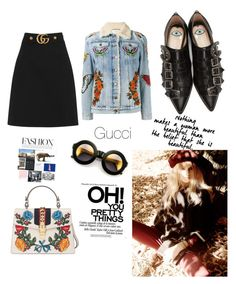 """All About Gucci"" by stylesmanda on Polyvore featuring Gucci and Wildfox"
