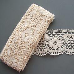 use lace trim in braid