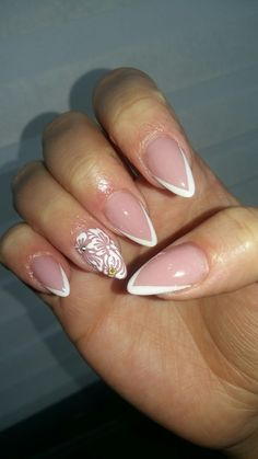 #myjanuarynails #mybridalnails  #french #simple #wedding