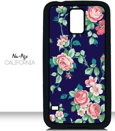 Pretty Floral Samsung Galaxy S5 Case Flower by NuAgeProducts, $13.23