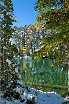 ✯ Alpine Lake - Bitterroot Mountains - Montana