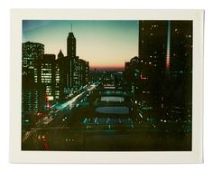 Chicago - 1975, The Lost Worlds of Wim Wenders's Polaroids | The New Yorker