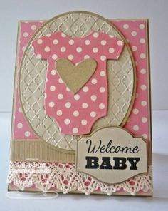 Welcome Baby Card can also be an invitation!: