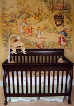i did marlee's nursery in beatrix potter... this wouldve been gorgeous. but a great idea for a baby shower theme