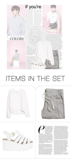 """""""monsta x \\ hyungwon (challenge set #2)"""" by xceleste17 ❤ liked on Polyvore featuring art, kpop, monstax and hyungwon"""