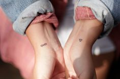 tiniest tattoos ❤️