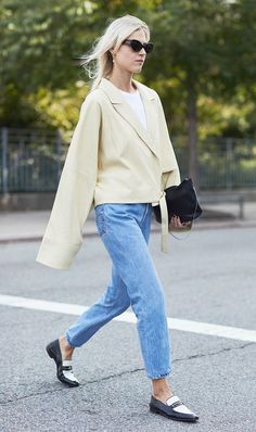 Update your fall denim selection with the jeans everyone in New York is wearing. Shop the style inside.