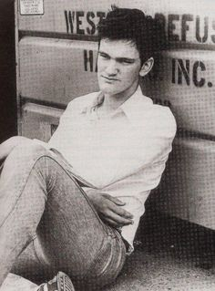 Young Quentin Tarantino