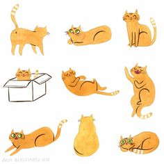 Apparently today it's International Cat Day. To celebrate, here's a spread of my sketchbook I dedicated to my sweet Maggie. Who, of course, thinks everyday is cat day 🐱