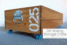 DIY Rolling Storage Crate (HoH164)