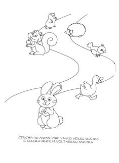 La maestra Linda: Destra-sinistra Worksheets For Kids, Preschool, Snoopy, 1, Coding, Printables, Fall, Fictional Characters, Veronica