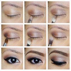 Soft Smokey Eyes using Urban Decay Naked 2