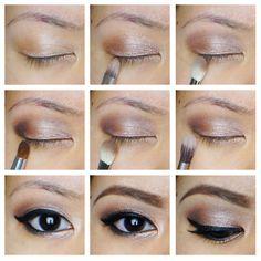 Soft Smokey Eyes - Hooded Asian Eyes :: Kirei Makeup