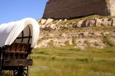 Oregon Trail Wagon Train-  Bayard, Nebraska