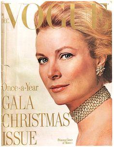 """Vogue"", December 1971 (Princess Grace of Monaco)"