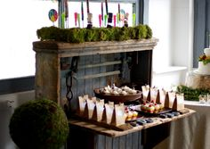 Avenue Catering Concepts at The Historic Pace House in Vinings Georgia #atlanta #wedding #catering  #venue #historic #dessertstation #weddingfavors