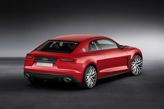Audi Puts Laser Lights on the Sport Quattro Concept for CES 2014