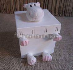 Caixinha com Hipopótamo