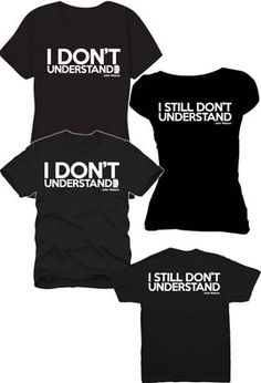 """Dr. John Watson spoke these words to the brilliantly evil Charles Augustus Magnusson in Season 3 of Sherlock, followed shortly by """"I still don't understand."""" Wear these lines on your T-shirt, front and back, and see how easy it is to strike up a conversation with someone you'd like to understand better. Black, short-sleeved"""