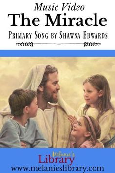 The Miracle, a song about the Atonement of Jesus Christ by Shawna Belt Edwards. Video with beautiful images and includes link to sheet music and recordings. Beautiful song for primary. Perfect with this year's study of the New Testament and Easter. Lds Songs, Lds Primary Songs, Primary Singing Time, Primary Activities, Primary Lessons, Primary Music, Music Activities, Primary Program, Number Song