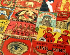 vintage matchbox - Google 검색