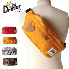 Drifter ドリフター DF538 CLASSIC HIP SACK Be Mine Collection