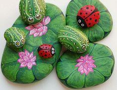 Painted stones   Rock Art   Pinterest
