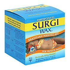 Surgi-Wax Brazilian Microwave Hair Remover Kit