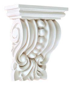"5-3/4""H X 4-1/8""Wx 2-1/4""Proj - Walton Extra Short Decorative Corbels | Corbel Place"