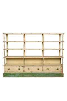 Bancroft Cabinet At Found Vintage Rentals With Spindle Detailing And Pops Of Kelly Green This Is Certainly A Statement Piece DIMENSIONS 101 X 16 76