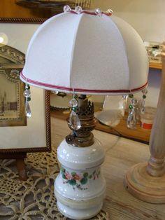 Création et électrification pied de lampe  partir d une ancienne