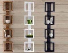 Real Home Inspiration: corner shelves at b&q only on this page Wall Shelf Decor, Wall Shelves Design, Wall Design, Corner Shelves, Wooden Shelves, Floating Shelves, Home Decor Furniture, Diy Home Decor, Cool Bookshelves