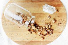 Vaihtoehto puurolle: terveellinen, helposti valmistettava granola!