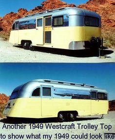 1949 Westcraft Trolley Top