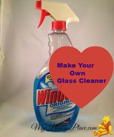 Make Your Own Glass Cleaner