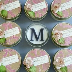 Rose Lace Bridal Shower or Wedding Favors. Check out this item in my Etsy shop https://www.etsy.com/listing/260942683/rose-lace-wedding-favors-40-soy-candle