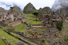 Machu Picchu, Peru  less than three weeks!