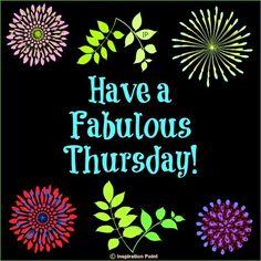 Fabulous Thursday via Inspiration Point on Facebook