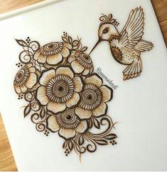 18 Ideas For Tattoo Feather Geometric Hand Drawn Bridal Henna Designs, Unique Mehndi Designs, Dulhan Mehndi Designs, Beautiful Henna Designs, Latest Mehndi Designs, Mehandi Designs, Mehandi Henna, Mehndi Tattoo, Henna Tattoo Designs